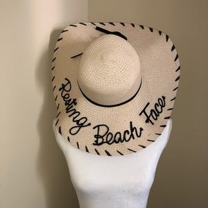 {Charming Charlie} Graphic Floppy Hat